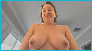 POV PORN E13: Big Fake Tits MILF Sucks & Fucks you & Takes your Creampie