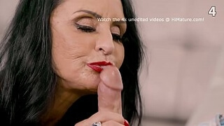 Matures sucking cocks - Old Women compilation
