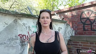 GERMAN SCOUT - BIG TITS MATURE JULIA SEDUCE TO ANAL AT STREET CASTING IN BERLIN FOR CASH