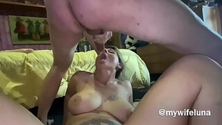 Wife is punished by her husband
