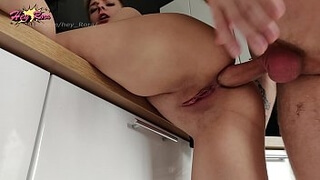 deep anal ASS TO MOUTH ON KITHEN GIRL NEXT DOOR