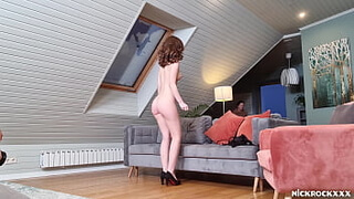 Photographer Fucked Teen Nude Fashion Model at Studio ! Hidden Camera
