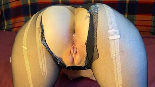 Fucked a Mitch in Pantyhose