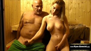 Teeny Fucked in the Sauna