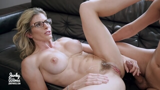 Step Mom Seduces her Step Son to Impregnant her with a Creampie - Cory Chase