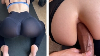 Signed up to the Gym just to Fuck my Sexy Instructor Ass Hard Core Anal