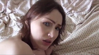 Russian amateur girl has anal sex