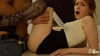 Client Flirts with Young Hot Realtor and Fucks her on Camera - Sexy Ellie Dopamine Gets Pleasure