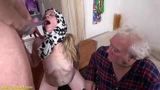 ugly mom first time cuckold ass fucked