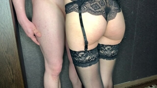 Sexy Wife Sucks Cock / Cum in Mouth / BunnyARom