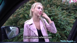 Public Agent Katrin Tequila is so sexy he fucks her twice in