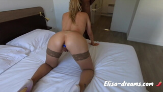 New date with a BBC in front of my cuckold