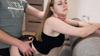Big Ass Girl Passionate Doggystyle Fuck after College - Oral Creampie