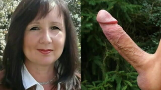 Kevin 19 fucks Marion 49 hard in the ass and cum inside