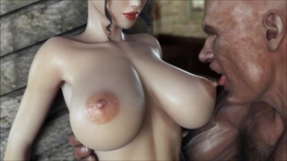 Animated Big Tits Gets Rammed by Huge Dick