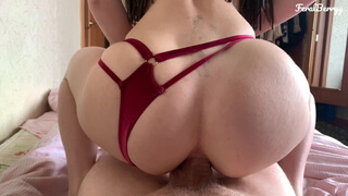 Milf pleasures her young friend anally. FeralBerryy