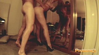 PASSIONATE COUPLE HAS EROTIC SEX & MULTIPLE ORGASMS FOR POUNDPIE3 IN VEGAS