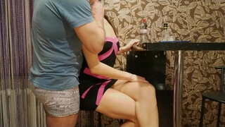 Husband came Home from Work and Fucked me in the Kitchen