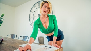 Classmate's milf mom wants young dick now!