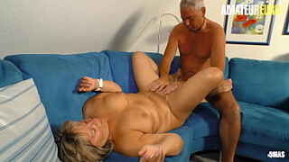AMATEUR EURO - 69 Hot Foreplay With A Sexy Ass German Granny