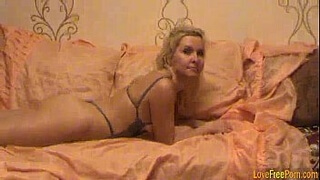 Blonde Russian Milf Face Fuck And Facial