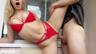 Homemade Sex with Cum in Mouth for Young Wife