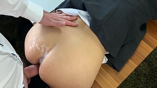 creampie compilation - hot personal assistant, business bitch