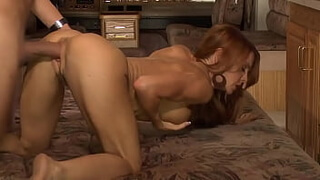 Fitness babe Janet and Franks cock