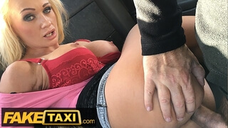 Fake Taxi Big Tits Blonde Bombshell Cindy Sun Fucked in the Ass