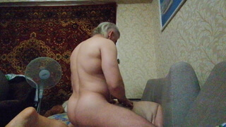 Fucked in the ass and pussy, powerful orgasm.