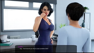 16 - Milfy City - v0.6e - Part 16 - Stepmother want fuck in her office (dubbing)