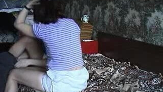 (mature screen) Russian on bed By CDM