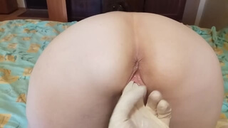 Russian Slutty MILF Cums from Hard Fisting - Marrie Barry