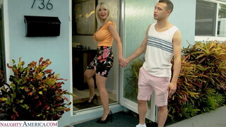 Victoria Lobov - Visit From A Friend Of Her Son's