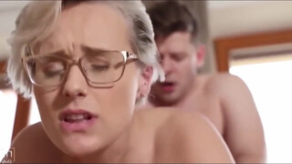 Angel Wicky fucked by stepson