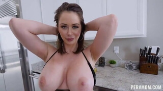 PERVMOM - Emily Addison 69's and bangs her stepson