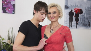 Mother and stepson open the world of taboo sex