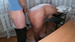Naked mom always agrees to anal sex