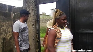 I Invited Two Sisters To The Farm To Fuck And African Gift Take Me To The Uncompleted Building To Fuck With Her Elder Sister That Was So Desperate For The Big Cock