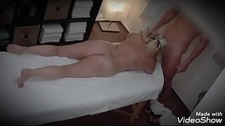 Crown gets horny and the masseuse