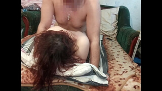 Fucked a slut and came on her tits