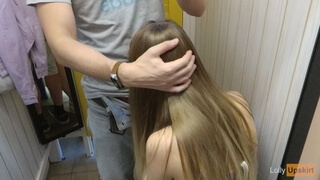 Risy Public Blowjob and Sex in the Store