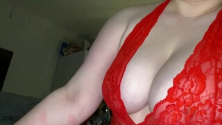 Big Titted Slut Rides and Wanks him until he Blows his Load Twice!