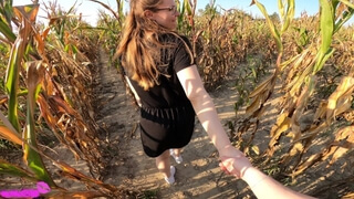 Fuck me in the Corn Field and Give me a Creampie