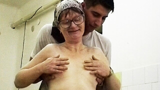 Ugly old Granny Rough Fucked