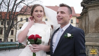 HUNT4K Attractive Czech Bride Spends first Night with Rich Stranger