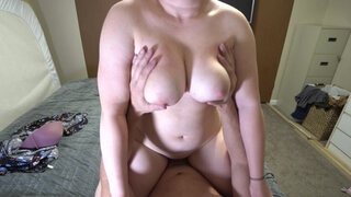 Busty Nymph Sucksand Rides my 9 Inch Cock in Sun Dress (Part 2)