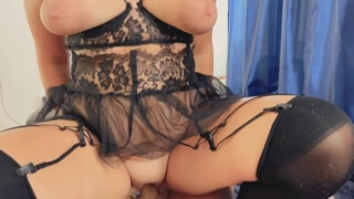 Big Tits, Butt Plug, Anal Sex and Nice Pussyfuck