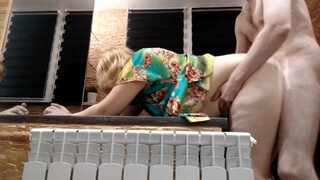 Cum in Moms Pussy Doggystyle - Chubby Hard Fast Pounding