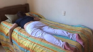 Teen sister fucked while s.